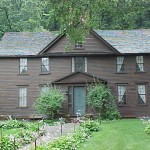 Louisa May Alcott's Orchard House in Concord, MA.